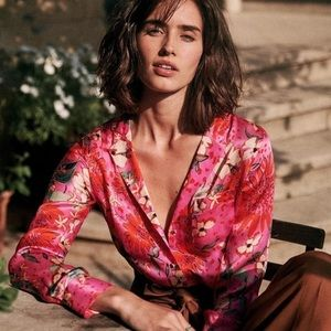 NWT Sézane Florence blouse - 40